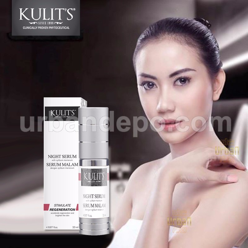 Kulit's Skincare - Night Serum With Sylibum Marianum - 20 ml