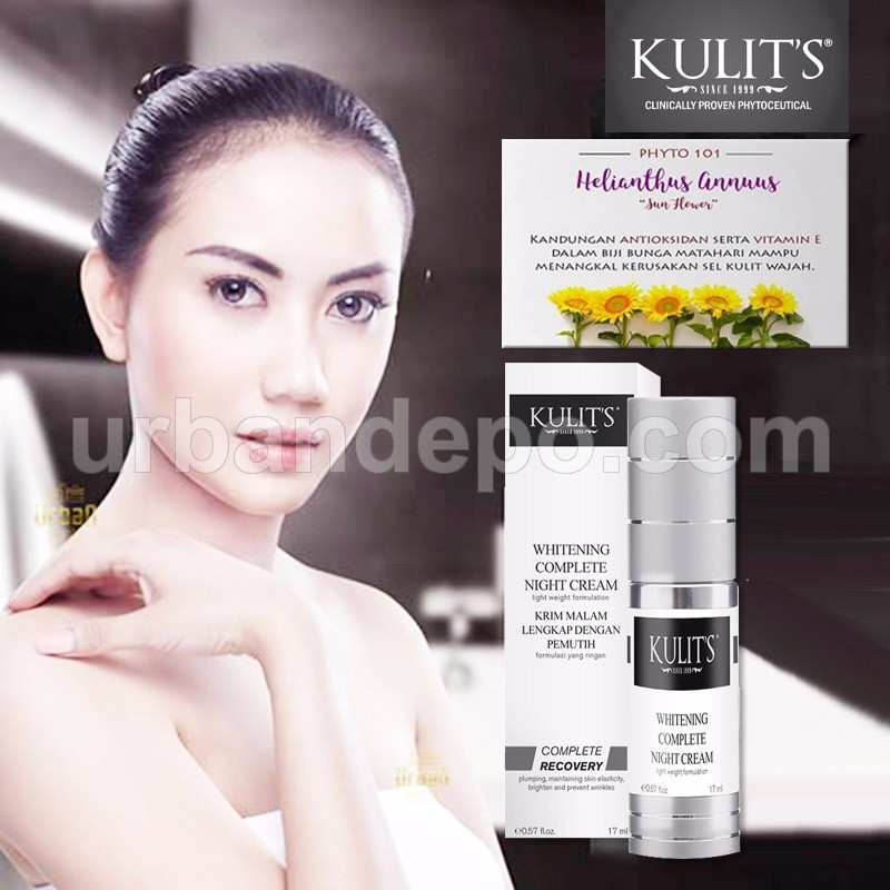 Kulit's Skincare - Whitening Complete Night Cream - 17 ml