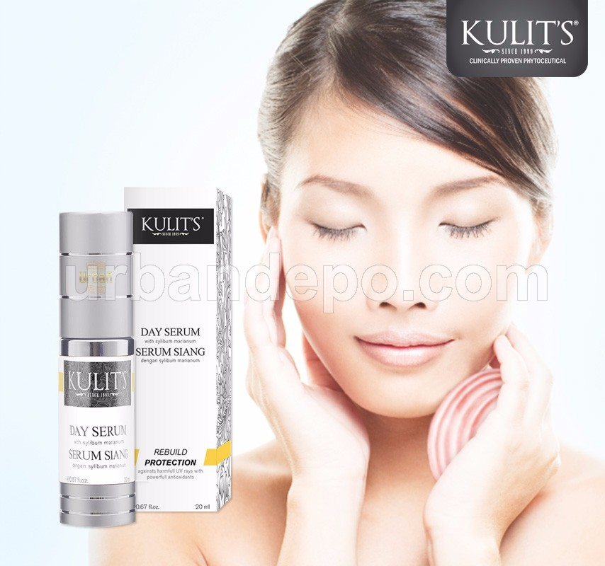 Kulit's Skincare - Day Serum With Sylibum Marianum - 20 ml
