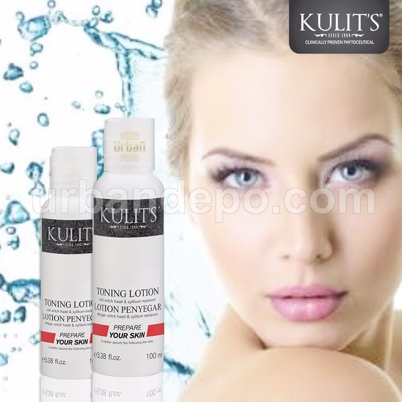 Kulit's Skincare - Toning Lotion With Hazel & Sylibum Marianum - 100 ml