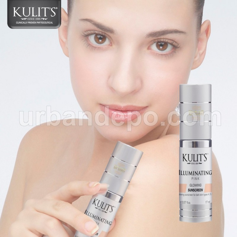 Kulit's Skincare - Illuminating Sunscreen Pink - 17 ml