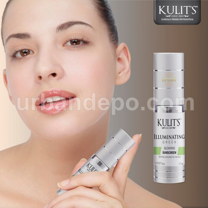 Kulit's Skincare - Illuminating Sunscreen Green - 17 ml