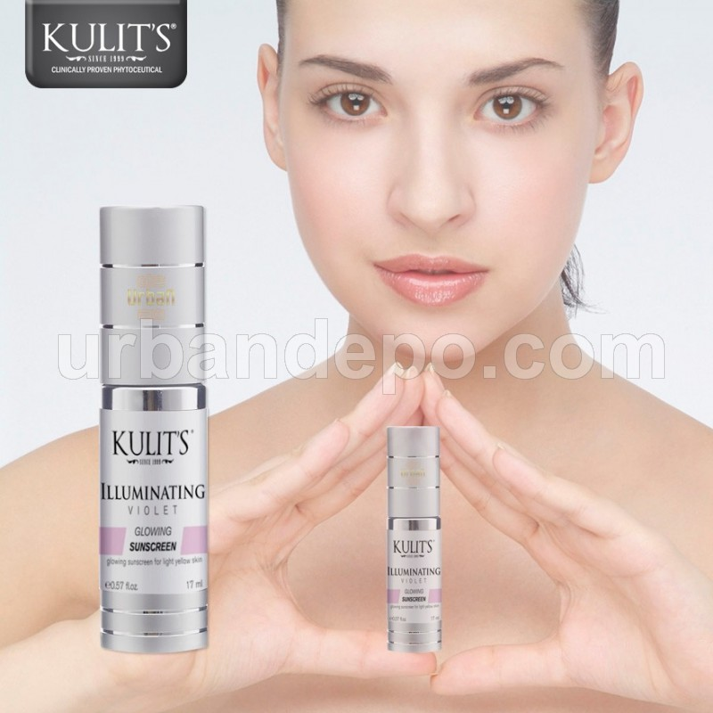 Kulit's Skincare - Illuminating Sunscreen Violet - 17 ml