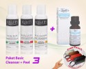 Facial Cleanser - Paket Basic Cleanser + Peel 3