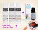 Facial Cleanser - Paket Basic Cleanser + Peel 1